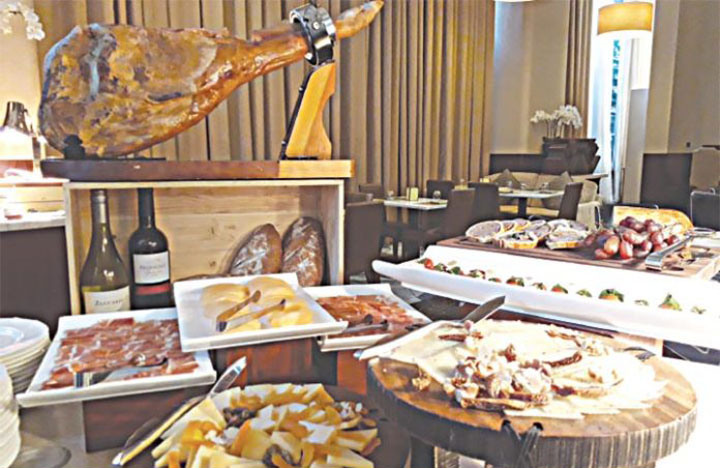 An Extraordinary Cheese and Charcuterie Buffet